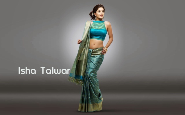 Isha-Talwar-Hot-Saree-Navel-Pic