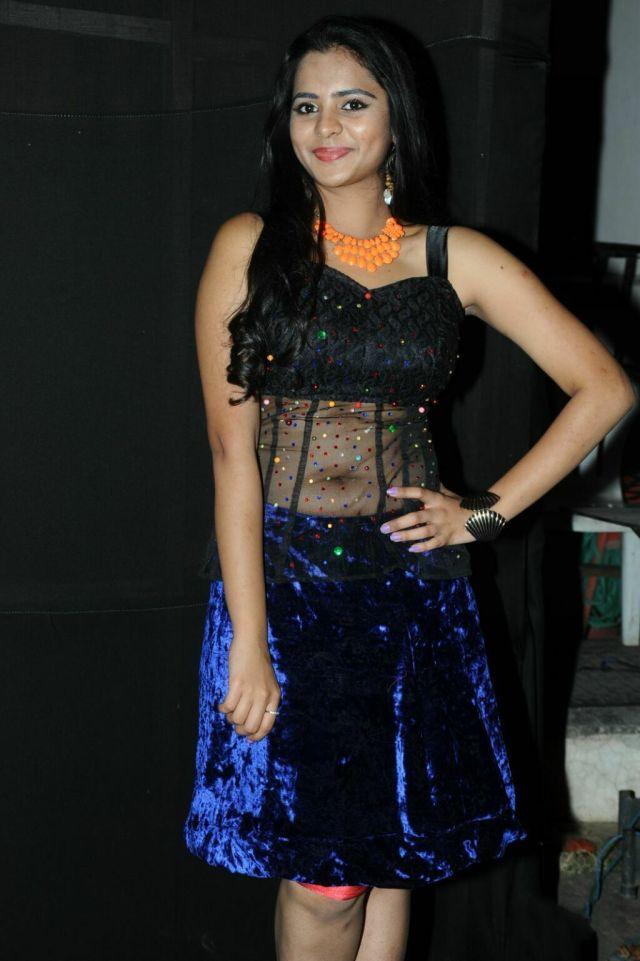 Manasa-Hot-Navel-Photos-In-Transparent-Dress