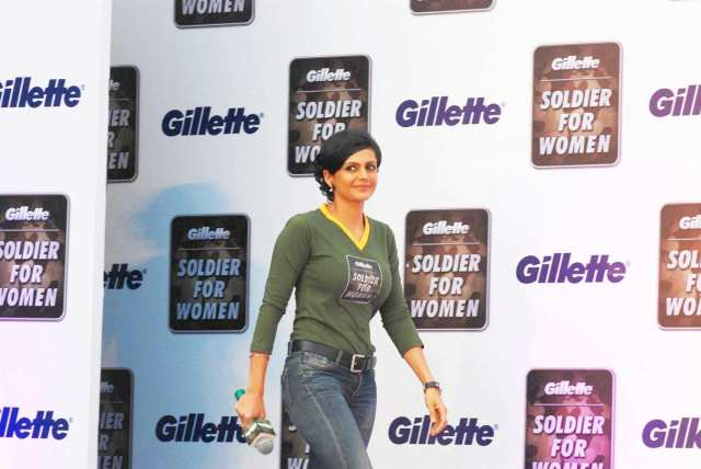 Mandira-Bedi-at-the-Gillette-Campaign-SOLDIER-FOR-WOMEN-in-Mumbai--2-