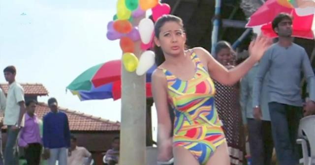 Preeti Jhangiani swimsuit hbi 1
