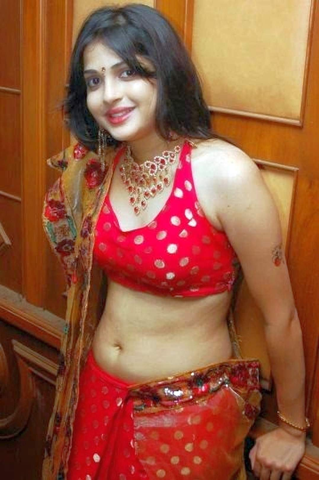 Hot Desi Chicks Real Life  Hot Navel Pics-8235