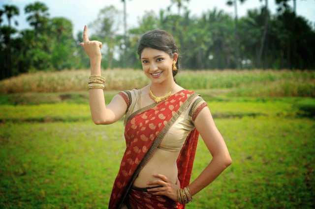 Actress Tanvi Vyas Latest Cute Hot Exclusive Transparent Saree Navel Show Spicy Photos Gallery (37)