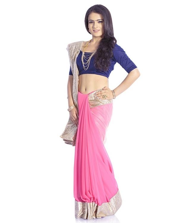 EK-Pink-Faux-Georgette-Saree-SDL627597118-1-7e36a