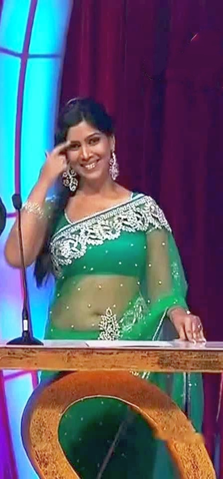 Sakshi-Tanwar-Hot-Navel-Show-In-Saree-3