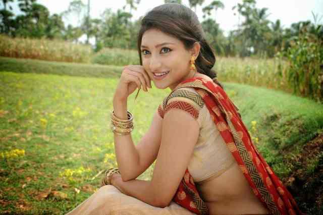Tanvi_Vyas-new-spicy-stills-in-saree (1)