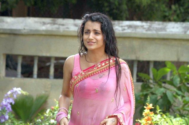 Trisha-Photos-in-wet-Saree-20